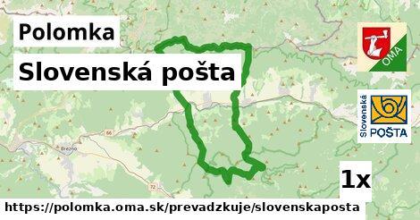 ilustračný obrázok k Slovenská pošta, Polomka