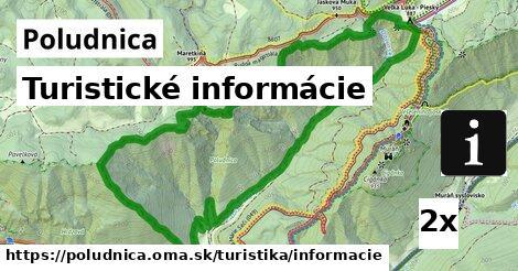 ilustračný obrázok k Turistické informácie, Poludnica