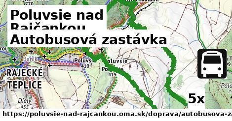 Autobusová zastávka, Poluvsie nad Rajčankou