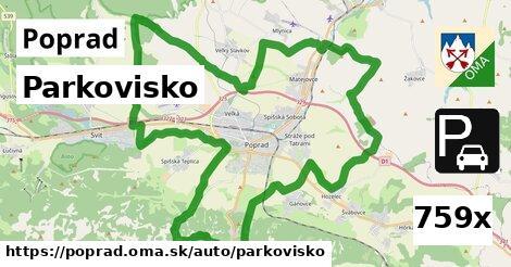 parkovisko v Poprad