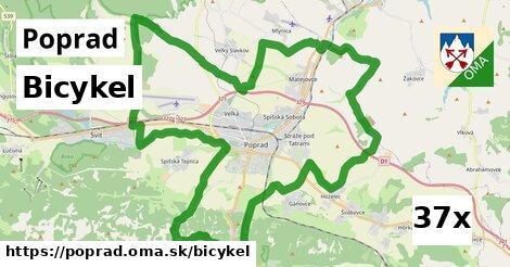 bicykel v Poprad