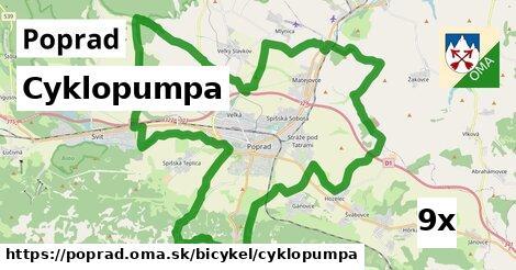cyklopumpa v Poprad