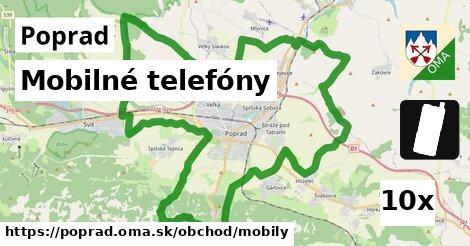 Mobilné telefóny, Poprad