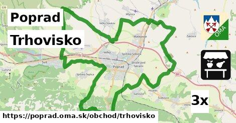 Trhovisko, Poprad