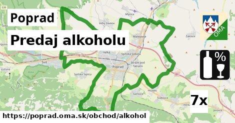 predaj alkoholu v Poprad