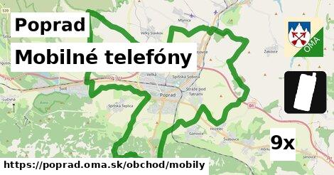 ilustračný obrázok k Mobilné telefóny, Poprad
