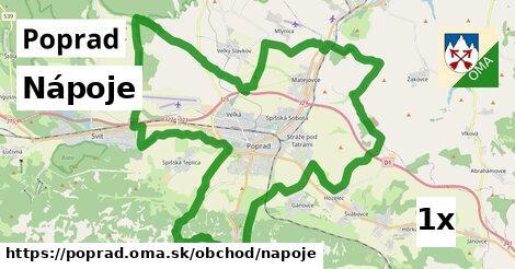 ilustračný obrázok k Nápoje, Poprad