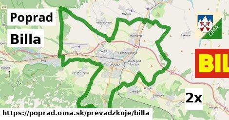 Billa, Poprad