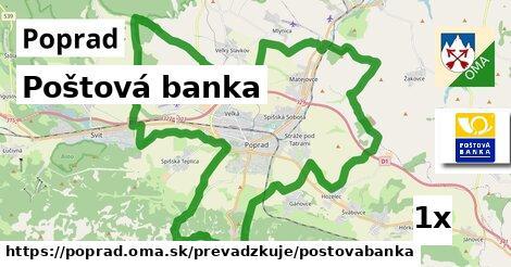 Poštová banka, Poprad