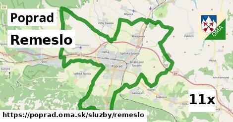 Remeslo, Poprad
