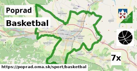 ilustračný obrázok k Basketbal, Poprad