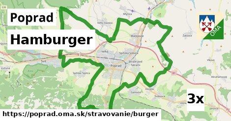 Hamburger, Poprad