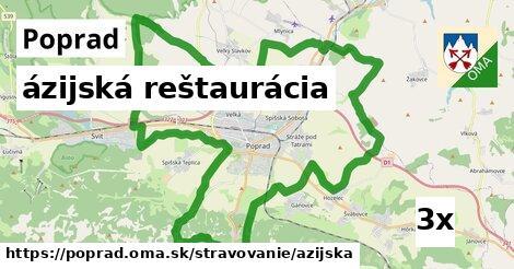 ázijská reštaurácia v Poprad