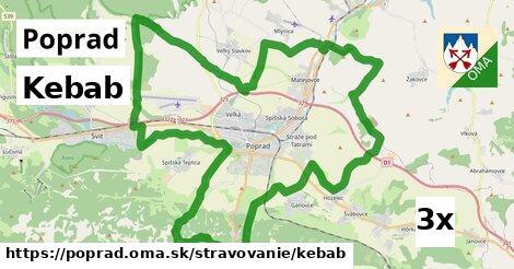 kebab v Poprad