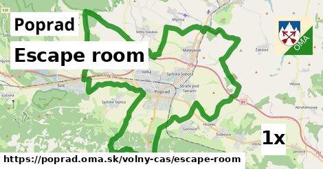 Escape room, Poprad