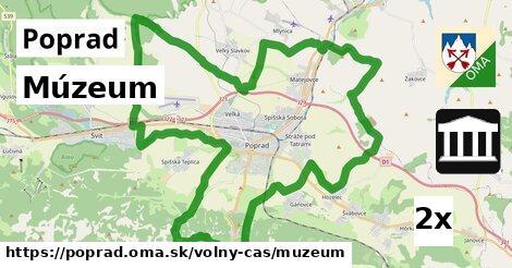Múzeum, Poprad