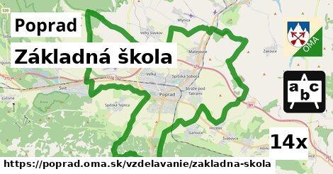 ilustračný obrázok k Základná škola, Poprad