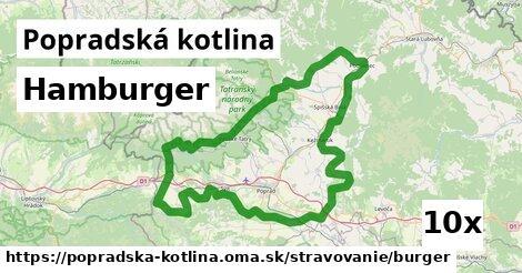 ilustračný obrázok k Hamburger, Popradská kotlina