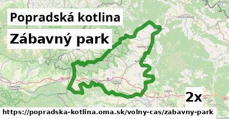 ilustračný obrázok k Zábavný park, Popradská kotlina