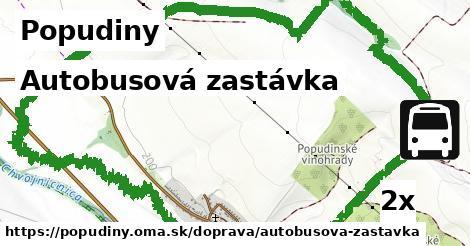 ilustračný obrázok k Autobusová zastávka, Popudiny