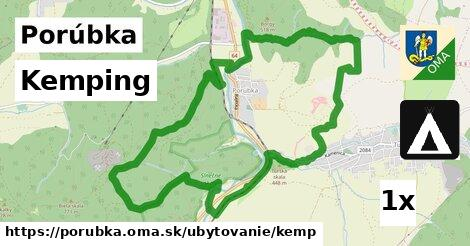 kemping v Porúbka