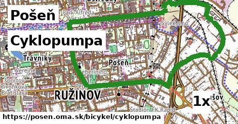 Cyklopumpa, Pošeň