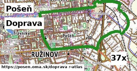 doprava v Pošeň