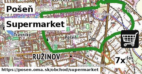 Supermarket, Pošeň