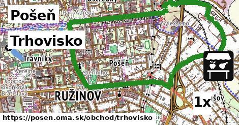Trhovisko, Pošeň