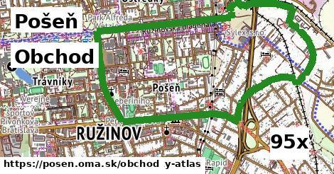 obchod v Pošeň