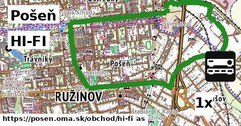 HI-FI v Pošeň