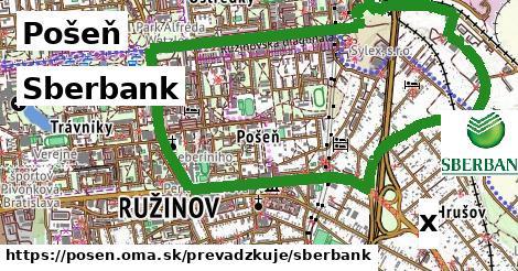 Sberbank v Pošeň