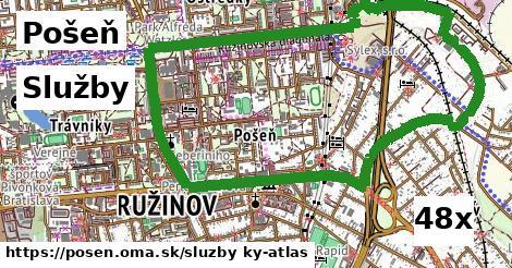 služby v Pošeň