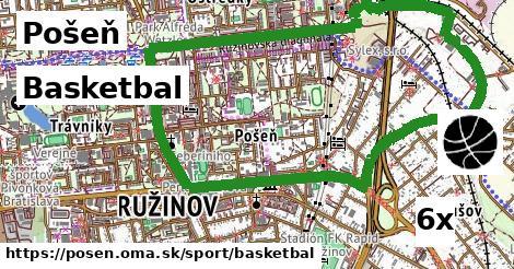 Basketbal, Pošeň