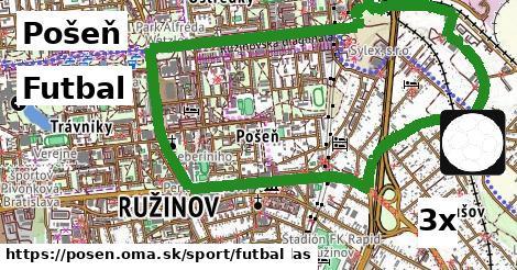 Futbal, Pošeň
