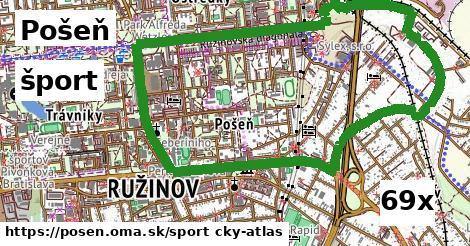 šport v Pošeň