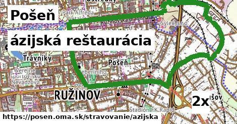 ázijská reštaurácia, Pošeň