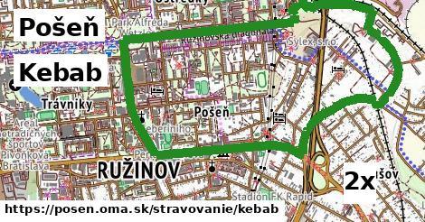 kebab v Pošeň