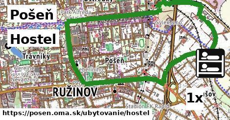 ilustračný obrázok k Hostel, Pošeň