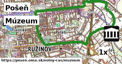 Múzeum, Pošeň