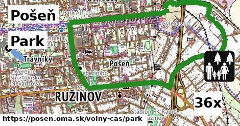 Park, Pošeň