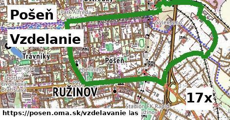 vzdelanie v Pošeň