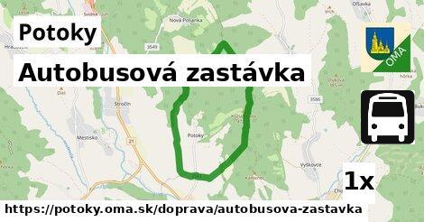 ilustračný obrázok k Autobusová zastávka, Potoky