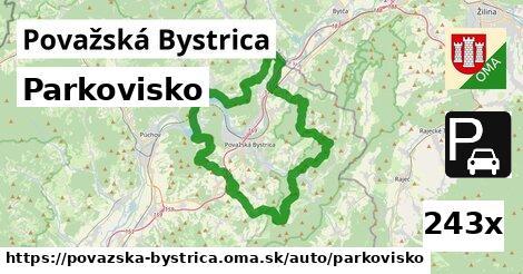 ilustračný obrázok k Parkovisko, Považská Bystrica