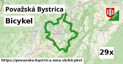 bicykel v Považská Bystrica