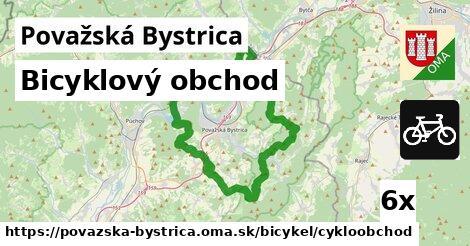 bicyklový obchod v Považská Bystrica
