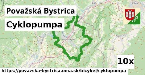 ilustračný obrázok k Cyklopumpa, Považská Bystrica