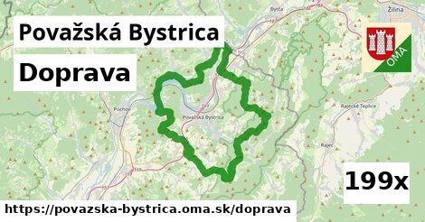 doprava v Považská Bystrica
