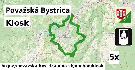 Kiosk, Považská Bystrica