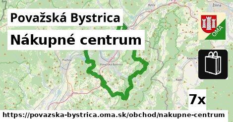 Nákupné centrum, Považská Bystrica